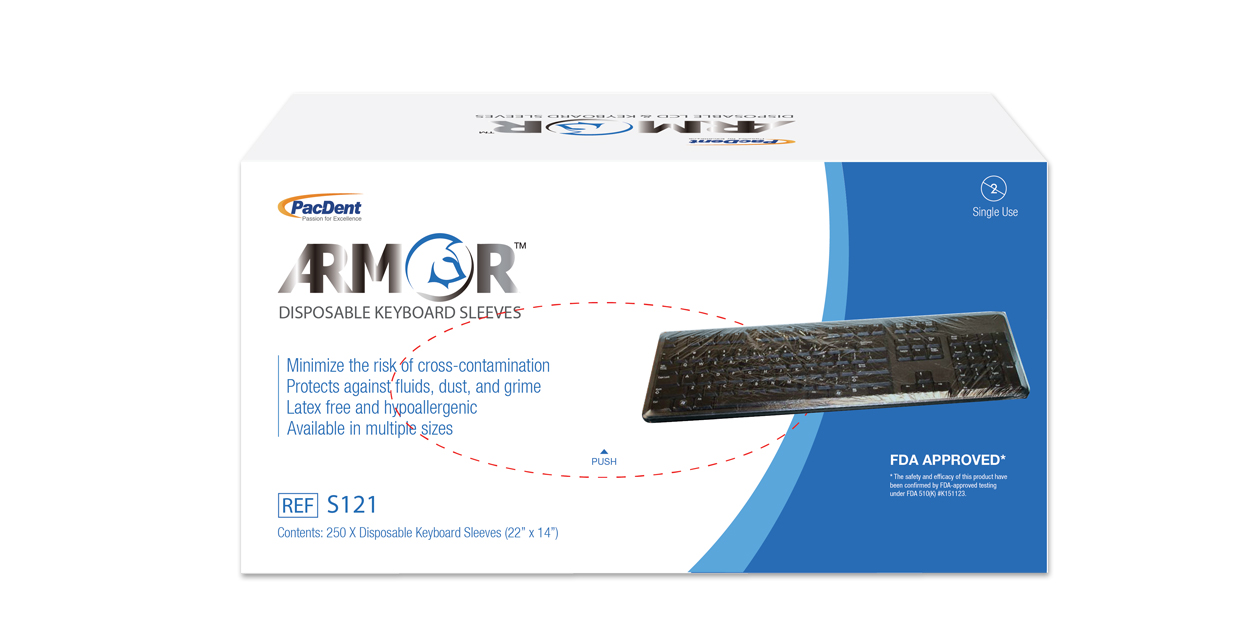 Armor keyboard sleeves