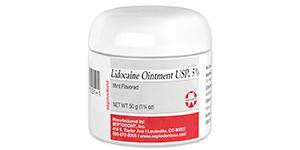 Lidocaine Ointment USP, 5% (jars)
