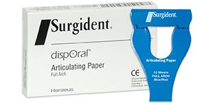 Surgident Disporal articulating paper
