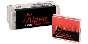 Alpen carbide burs