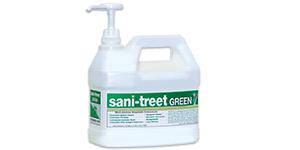 Sani-Treet Green