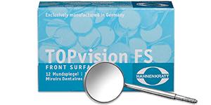 Hahnenkratt TopVision FS front surface chromium mirrors