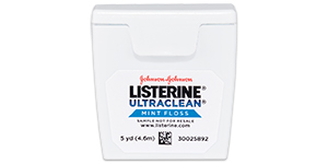 Listerine Ultraclean floss