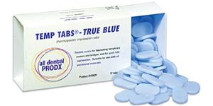 Temp Tabs - True Blue