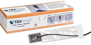 TidiShield x-ray sensor sheaths