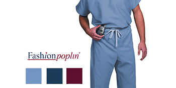 Fashion Poplin scrub pants