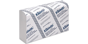 Kleenex multifold towels