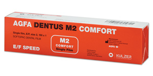 Agfa Dentus M2 Comfort E/F speed film