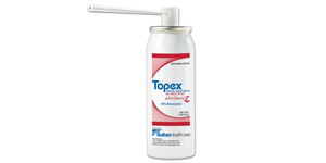 Topex topical metered spray