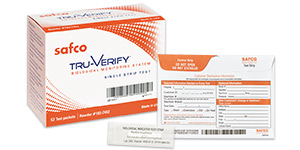 Safco Tru-Verify mail-in biological monitor