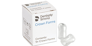 Dentsply Sirona strip off transparent crown forms