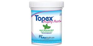 Topex prophy paste jars