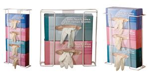 Wire glove box holder