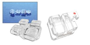 HYPE Hybrid Resin Mini-Twin Bracket - MBT