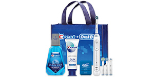 Crest Oral-B Gingivitis Electric Toothbrush Bundle