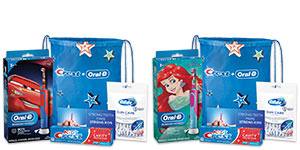 Crest Oral-B Kids 3+ Years Electric Toothbrush Bundle