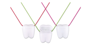 Tooth saver necklaces