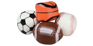 Sports kickbag balls