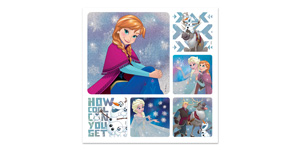 Disney Frozen Glitter Stickers