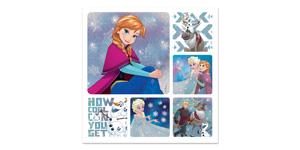 Disney Frozen Glitter Stickers