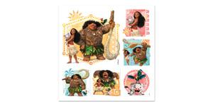 Disney Moana Stickers