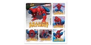 Spider-Man Patient Stickers