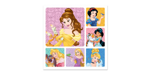 Disney Princess Classic #1 Stickers