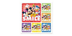 Disney Gang Smile Stickers