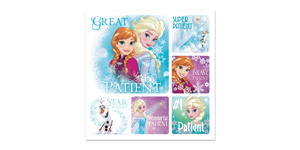 Disney Frozen Patient Stickers