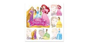 Disney Princess Autograph Stickers