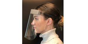 Protective face shields - pkg of 100