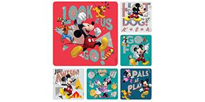 Mickey & Disney Pals Glitter Stickers