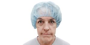 Barrier basic bouffant nursing cap