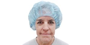 Barrier large bouffant nursing cap