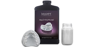 KeyOrthoModel 3D Print Resin