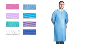 FitMe disposable lab coats