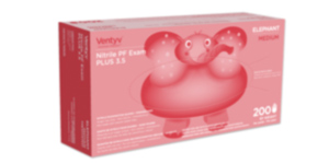 Ventyv Nitrile Powder-Free PLUS 3.5 Elephant