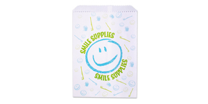 Smile supplies paper bags